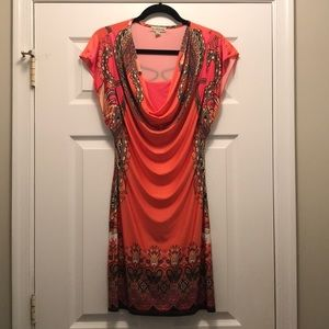 Lightweight Printed Summer Dress (Size: S)